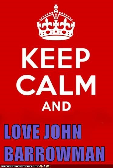LOVE JOHN BARROWMAN