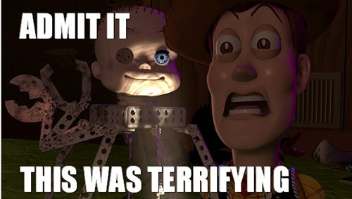 disney toy story nightmare fuel pixar funny - 7485446912