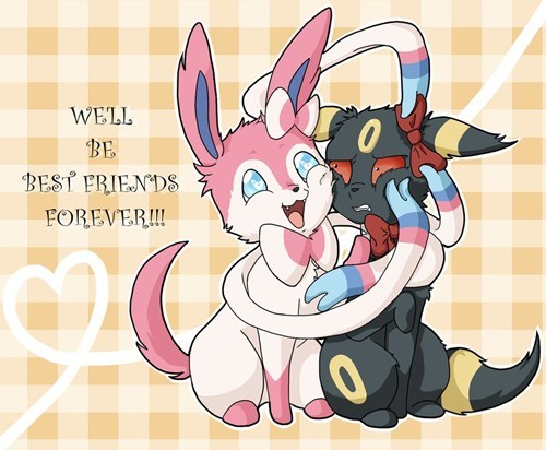 Pokémon art sylveon BFFs funny umbreon - 7485472512