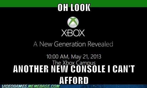 poor,xbox reveal,video games,funny,money