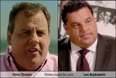 Chris Christie,leo boykewich,totally looks like,funny