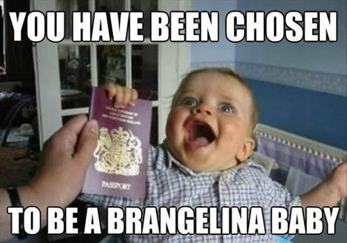 happy baby brangelina funny parenting - 7485697024