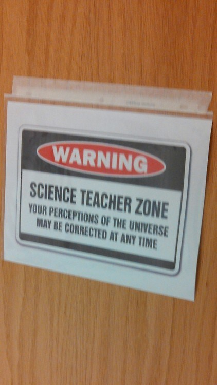 sign twilight zone teacher science funny - 7485768704