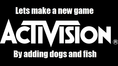 call of duty dogs pets activision fish funny xbox reveal - 7485770496