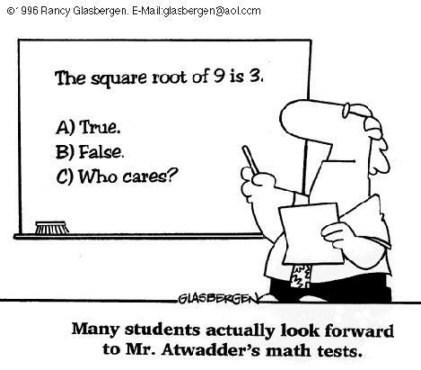 teacher test comic math funny - 7485793536