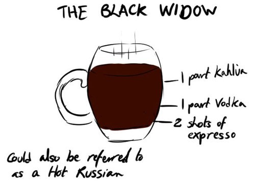 Black Widow funny cocktail avengers - 7486175232
