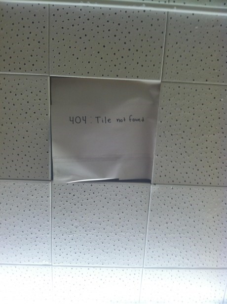 ceilings 404 error funny