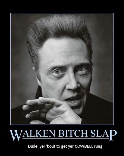 wtf cowbell christopher walken funny - 7486376448