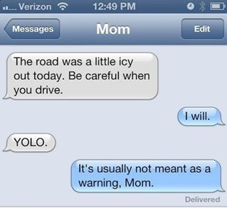 yolo parents on the internet funny - 7486501376