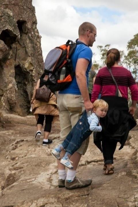 Babies Hiking parenting funny - 7486566144