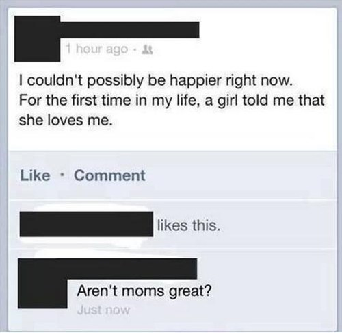 she loves me moms parenting funny - 7486567168