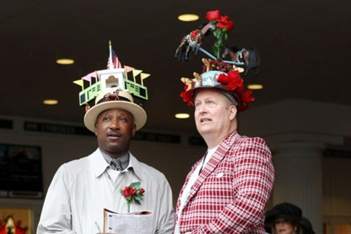 crazy hats,kentucky derby,funny