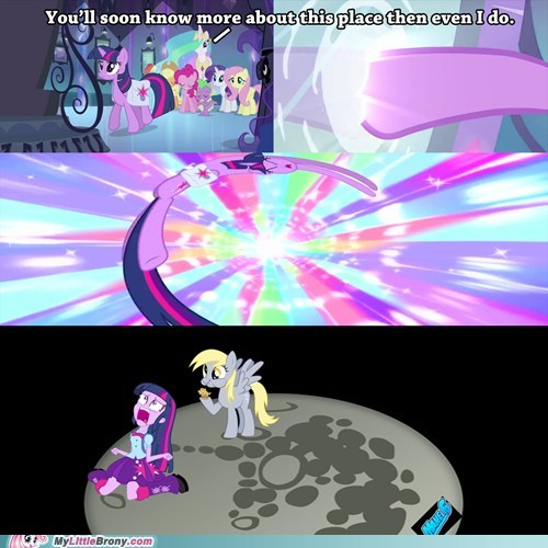 equestria girls,mane 6,derpy hooves,funny,to the moon