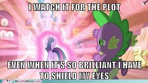 spike rarity funny dat plot - 7486740224
