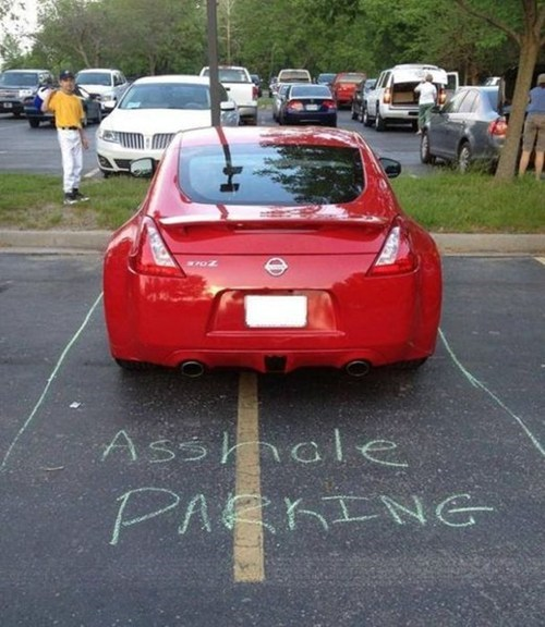 douchebag parkers cars funny parking fail nation - 7486756864