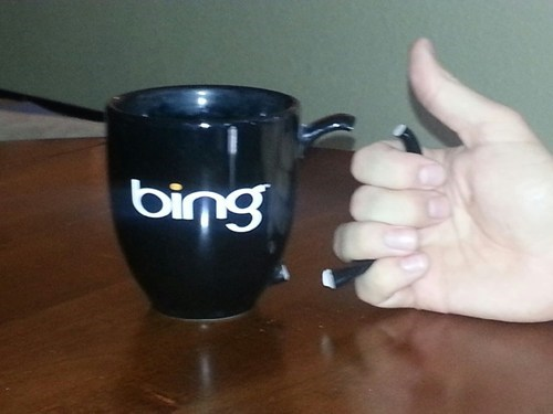 bing,bing translator,mug