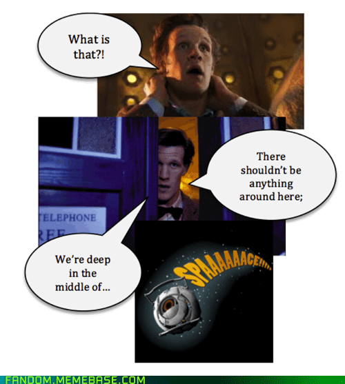 crossover doctor who video games portal 2 - 7486888448