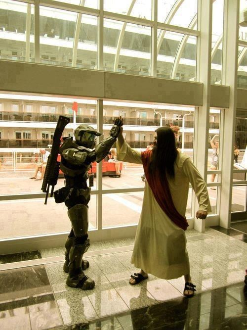 jesus cosplay halo - 7486932992