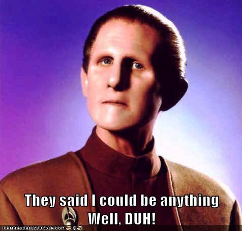 odo Star Trek Deep Space Nine - 7487137024