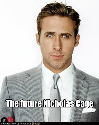 Ryan Gosling,nicolas cage