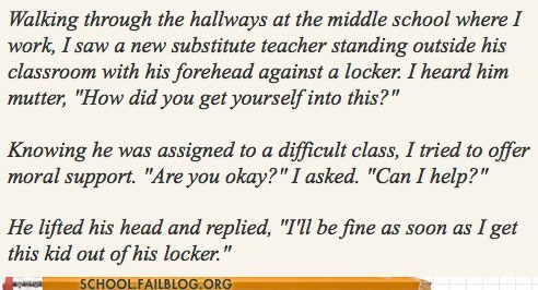 work,locker,teacher,funny