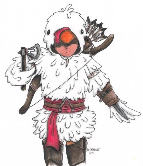 Fan Art assassins creed video games - 7487854848