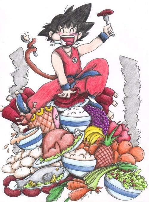 Fan Art Dragon Ball Z cartoons - 7487872256