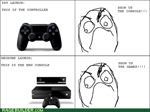 PlayStation 4 console gamers video games funny xbox one - 7487954432