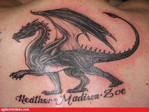 tattoos dragons names funny - 7488697088