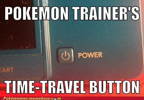 Pokémon 3DS power button cheater funny - 7488957696