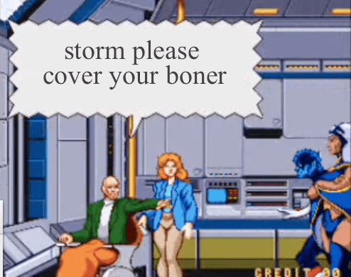 storm x men no no tubes video games
