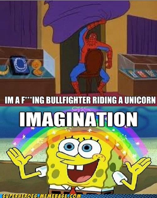 Saturday Morning Cartoons wtf Spider-Man imagination funny - 7490201600