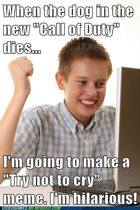 call of duty internet noob kid Memes funny - 7490216192