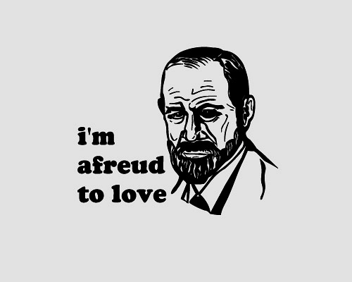 freud fact love psychology funny - 7490374912