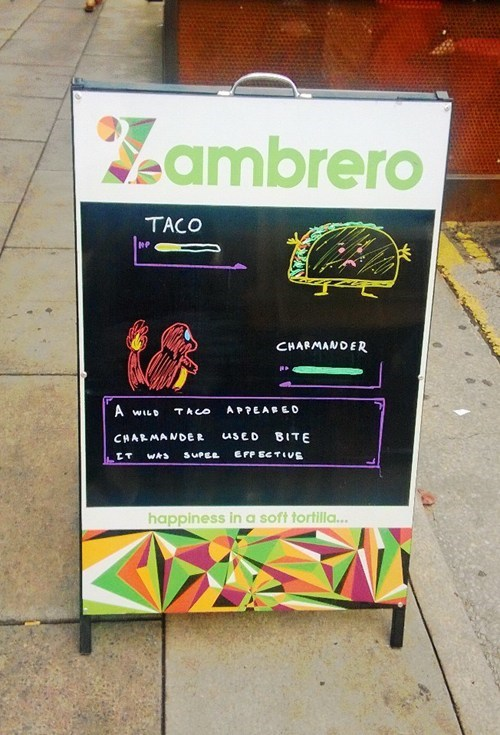 Pokémon tacos IRL signs funny - 7490511872