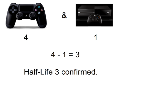 half life consoles video games funny - 7490635008