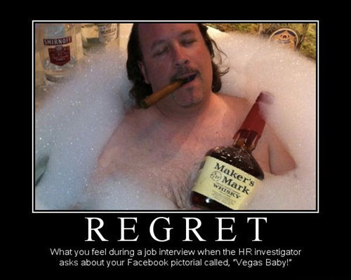 vegas,booze,job interview,regret