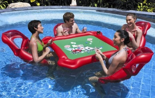 summer design pool poker funny - 7490707968