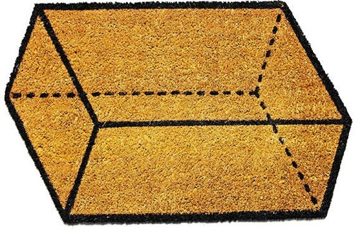 geometry design floor mat - 7490722048