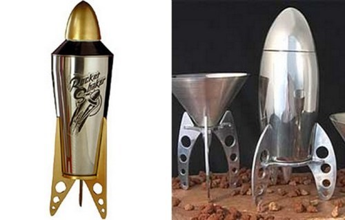 drink shaker rocket glass funny cocktail - 7490904832