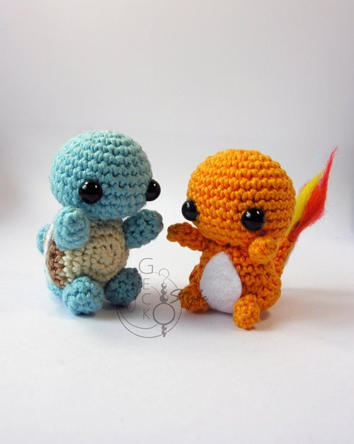 These Chibi Crocheted Pokemon Are So Cute