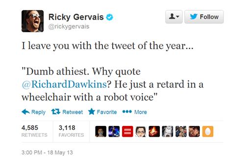 twitter richard dawkins noam chomsky ricky gervais stephen hawking - 7491141888