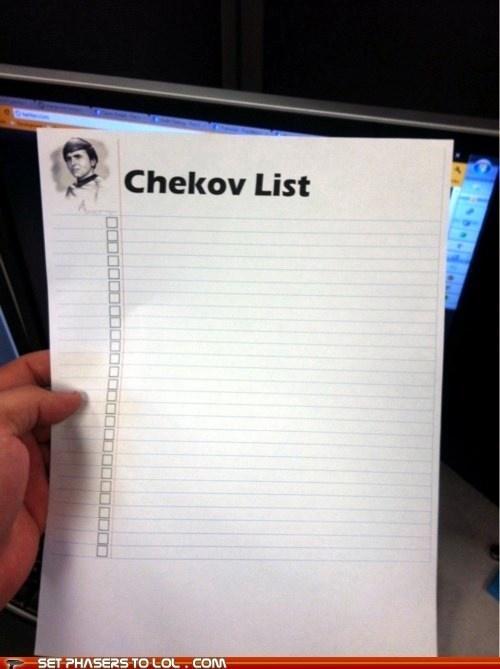chekov Star Trek funny - 7491176704