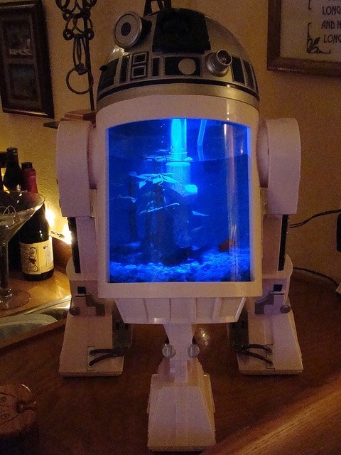 r2d2 design aquarium nerdgasm g rated win - 7491356160