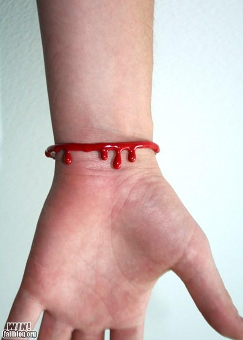 Blood Bracelet