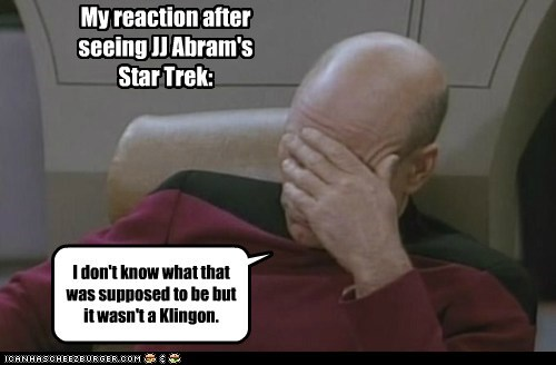 klingons picard facepalm Star Trek - 7491760896