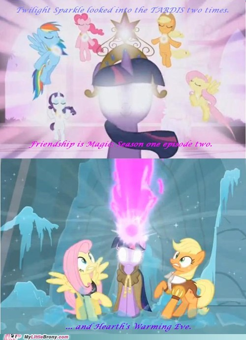 twilight sparkle tardis doctor who funny - 7491836928