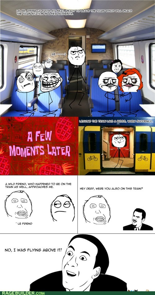 you dont say public transit train funny - 7492736768