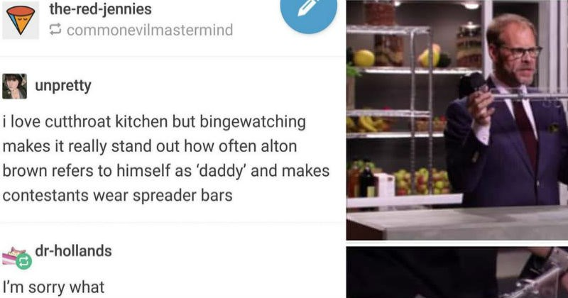 cutthroat kitchen tumblr social media ridiculous funny - 7492869