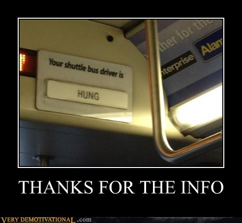 wtf bus driver hung funny name